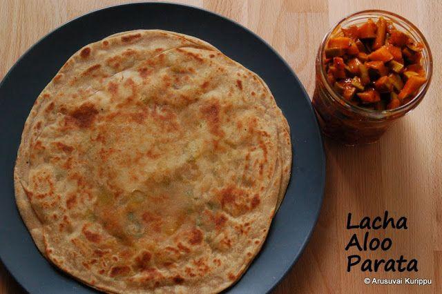 laccha aloo parata indian breakfast recipes food on hebbar s kitchen recipes laccha paratha id=63577