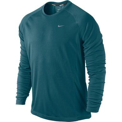 Nike Miler Long Sleeve UV (Men's) - Mountain Equipment Co-op. Free Shipping Available $45