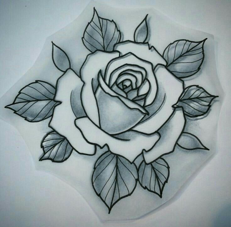 Pin By R Rosemarie On Tattoos Traditional Rose Tattoos Rose Tattoos Rose Tattoo Design