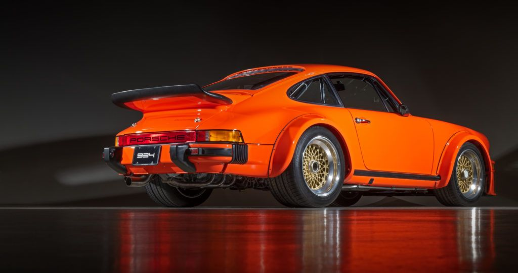 From The Race Track To The Street 1976 Porsche 934 Turbo Rsr Canepa Porsche Rsr Porsche Turbo