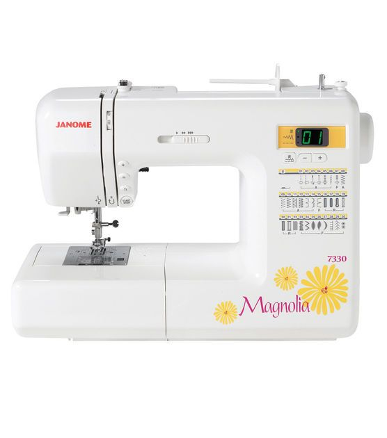 Janome Magnolia 40 Computerized Sewing Machine Janome Magnolia Interesting Sewing Machines At Joann Fabrics