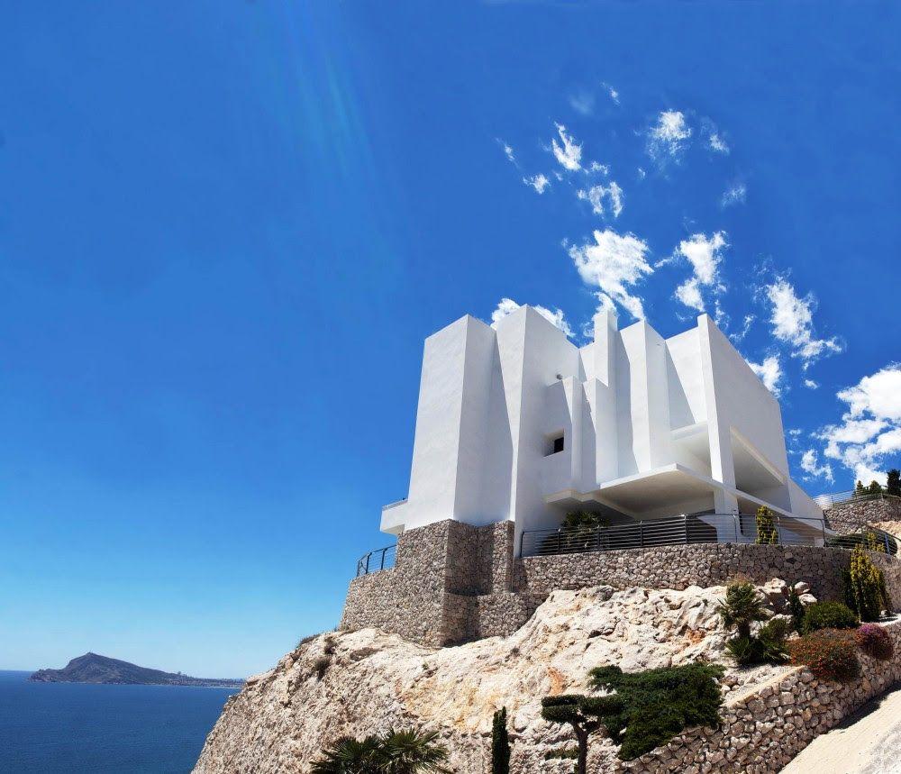 Amazing Modern Mediterranean House Plans Kitchencoolidea: Modern Fortress Houses