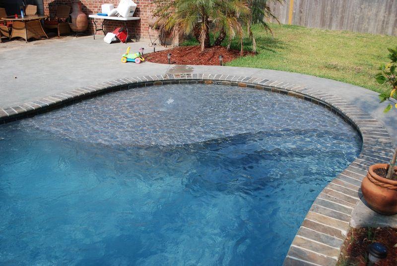 The Pool Guy La Natural Designed Inground Swimming Pool