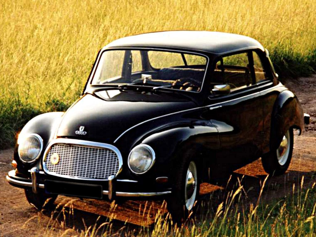 1955 DKW F93 ....Invented Then Sold Design To Mazda For The \