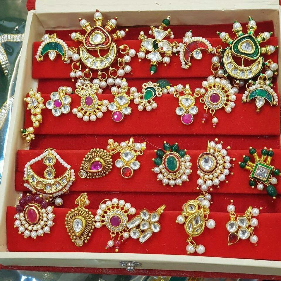 Besar Mini Showcase Rajputi Jewellery Antique Gold Jewelry