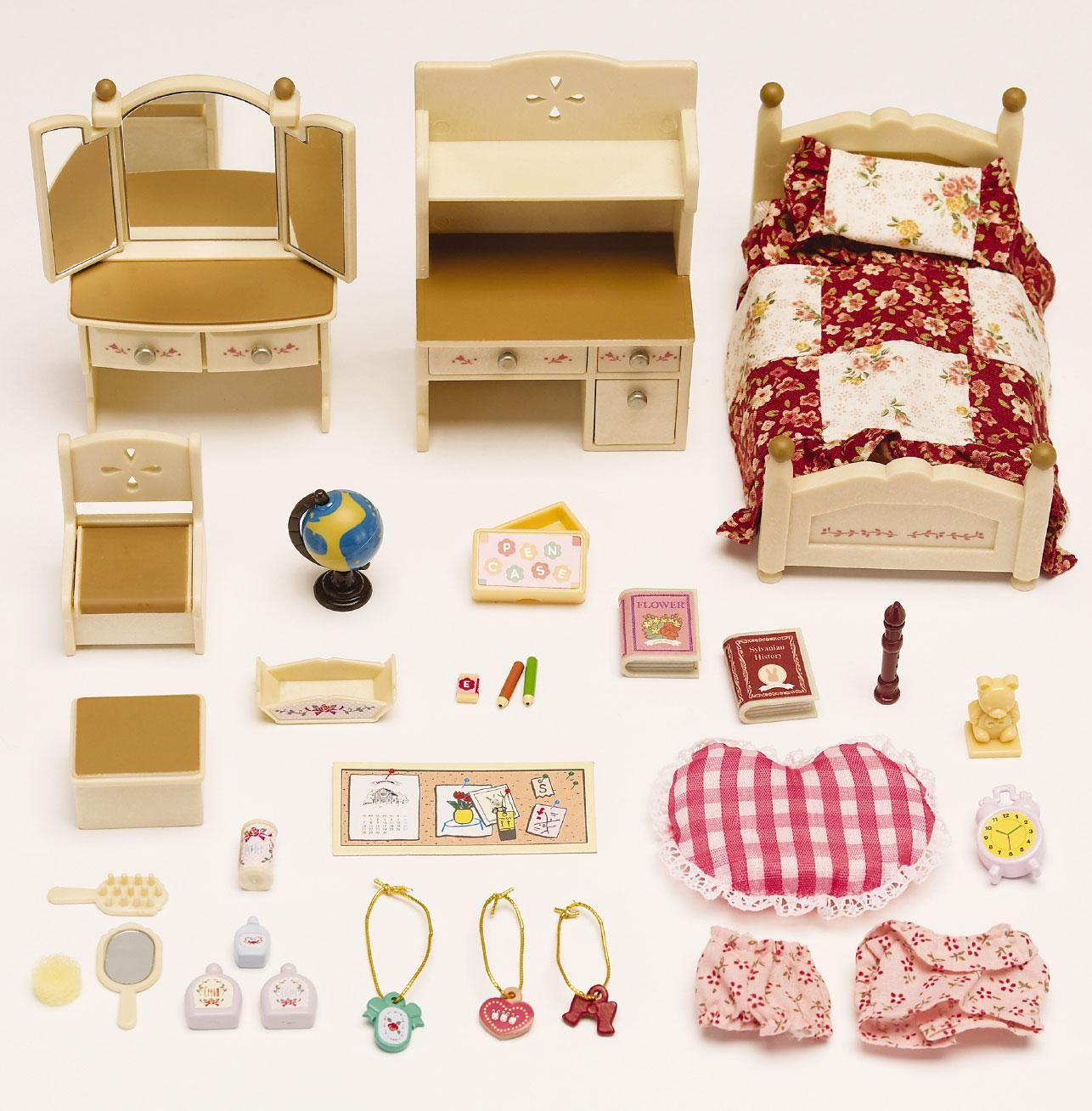 Beautiful Calico Critters Bedroom Set Painting