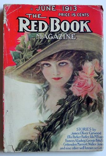 Red Book Magazine June 1913 Henry Hutt Cover
