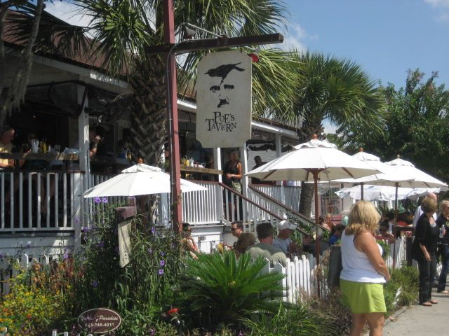 Poes Tavern One Of Our Favorite Restaurants On Sullivans Island