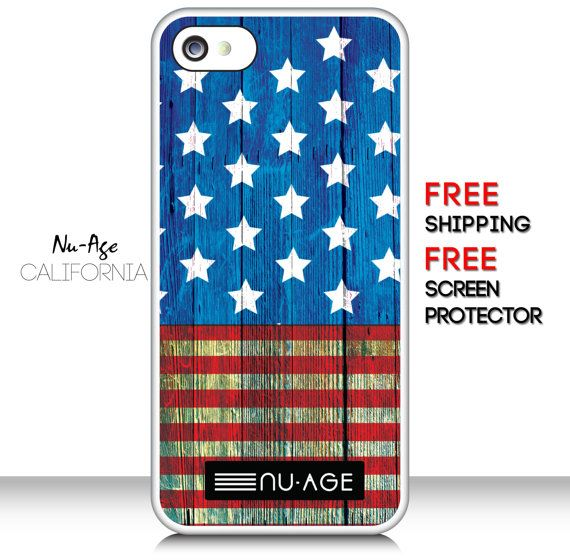 Unique Iphone 5 5s Us Flag Case Iphone American By Nuageproducts 13 99 Usa Iphone Flag Cases Iphone Cases