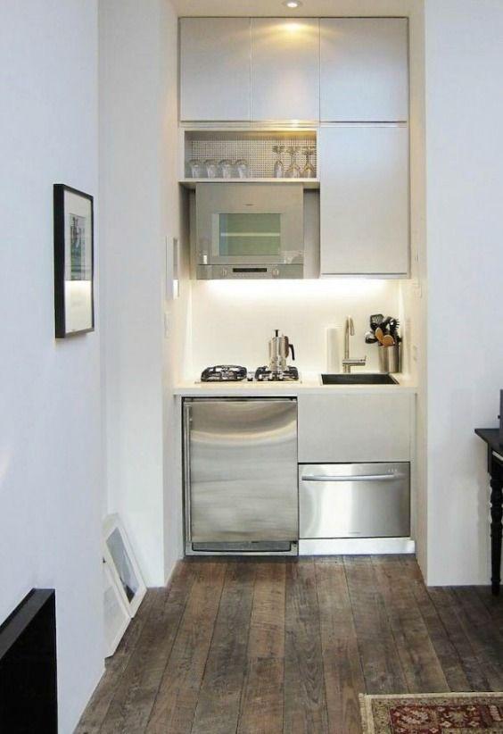 35 idées pour aménager une petite cuisine | Kitchens, Tiny houses ...