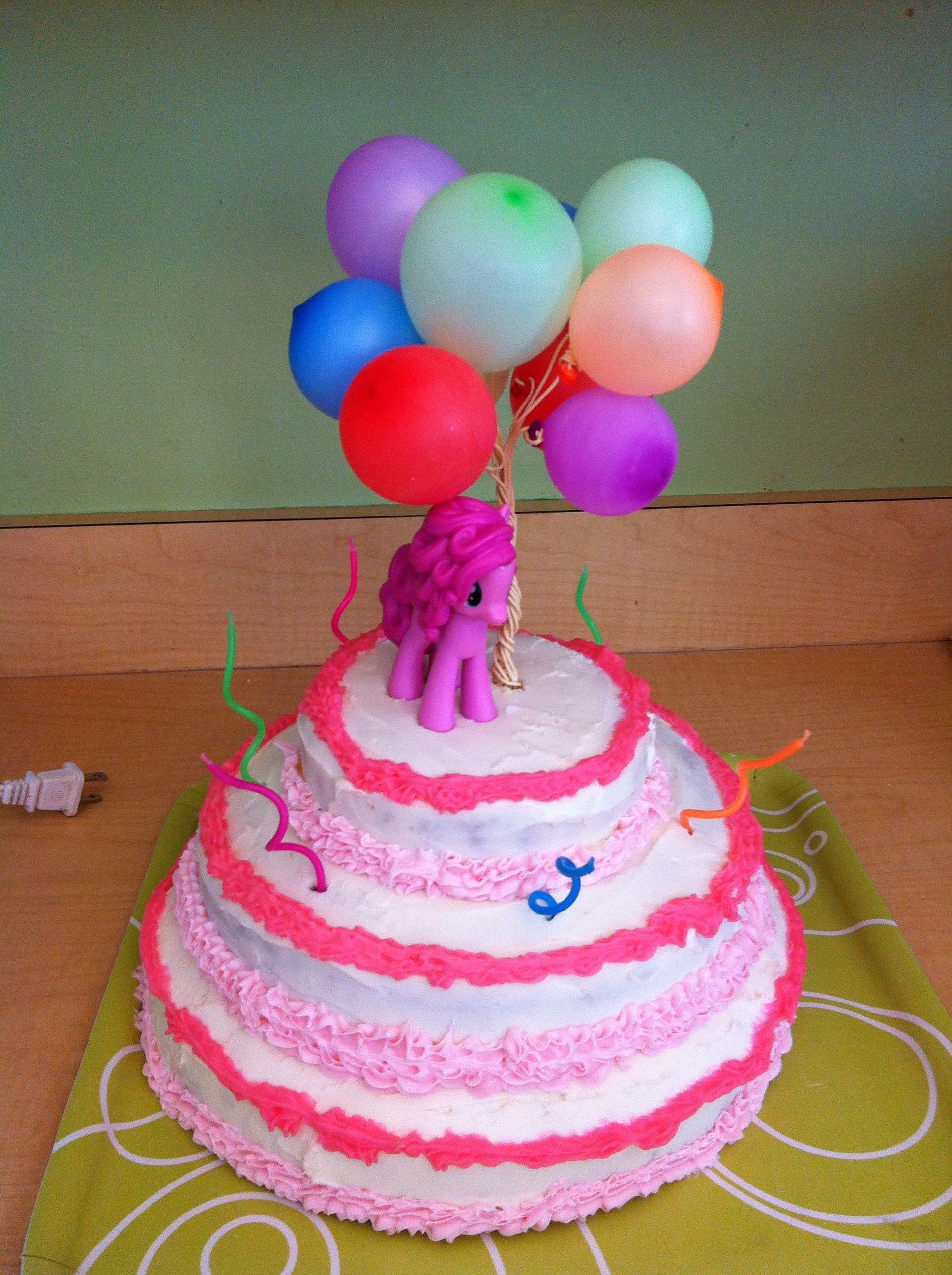 My Little Pony Quot Pinkie Pie Quot Birthday Cake Real Balloons