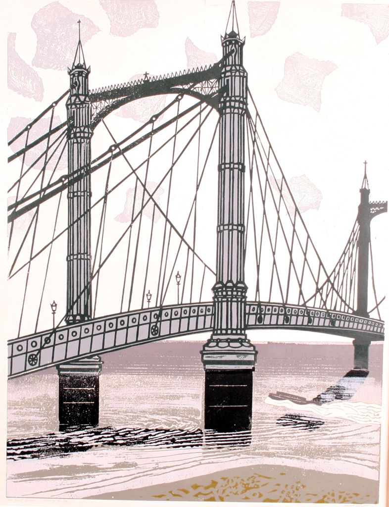 Albert Bridge #Bawden