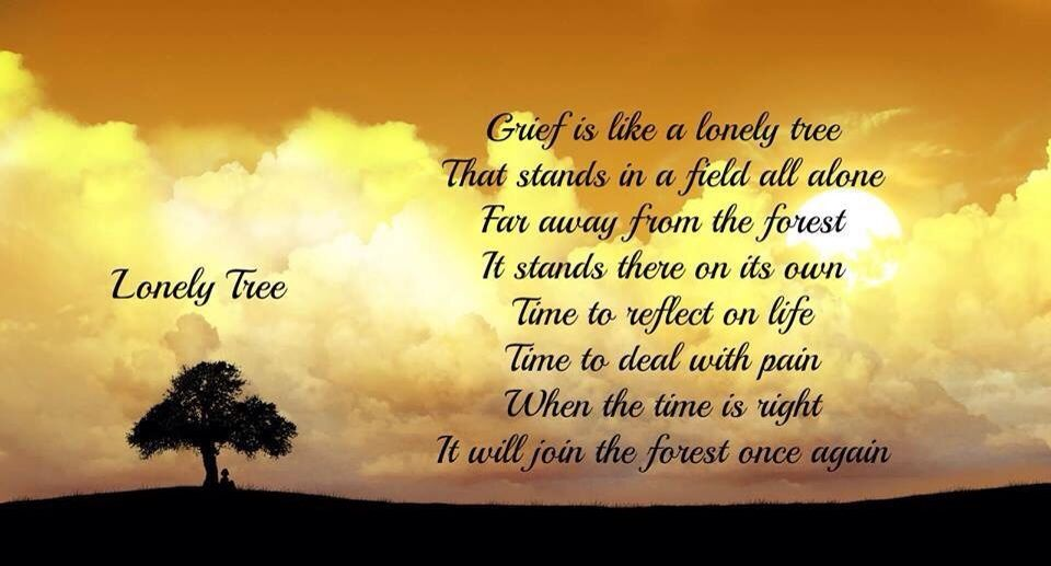 Quotes Lonely Tree