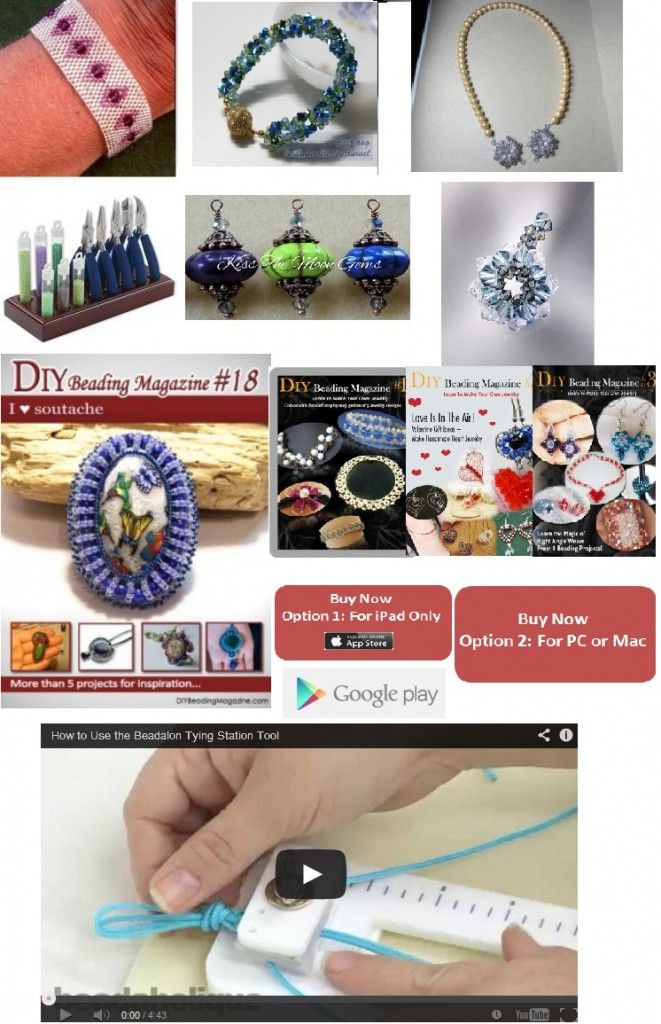 Round-Up Free Jewelry Making Tutorials and Jewelry Making News
