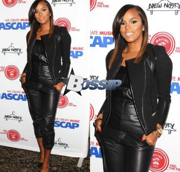 LeToya Luckett And Melanie Fiona Attend ASCAP Event « | Bossip