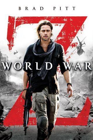 World War Z 2013 Brad Pitt Zombie Movies New Movies