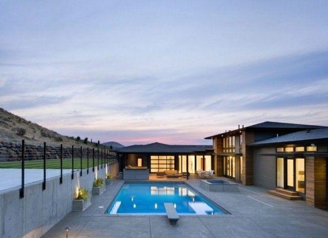 diseño de piscina de hormigón