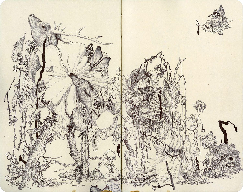 James Jean - Fungi