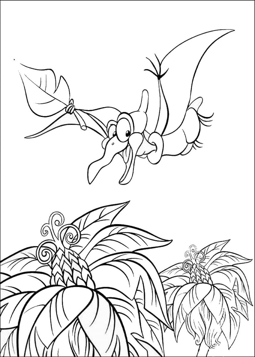 Land-Before-Time-Coloring17.jpg 857×1,200 pixels | Colouring Pages ...
