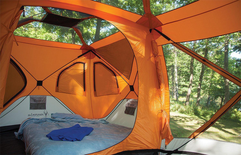 Gazelle 8 Man Hub Tent w/Screen Room & Gazelle 8 Man Hub Tent w/Screen Room | sports | Tent Tent camping ...