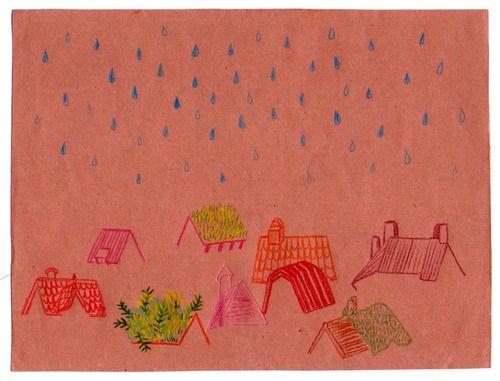 mojados los tejados (agentemagenta)