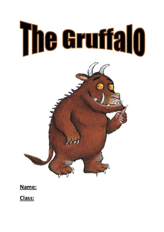 Gruffalo booklet