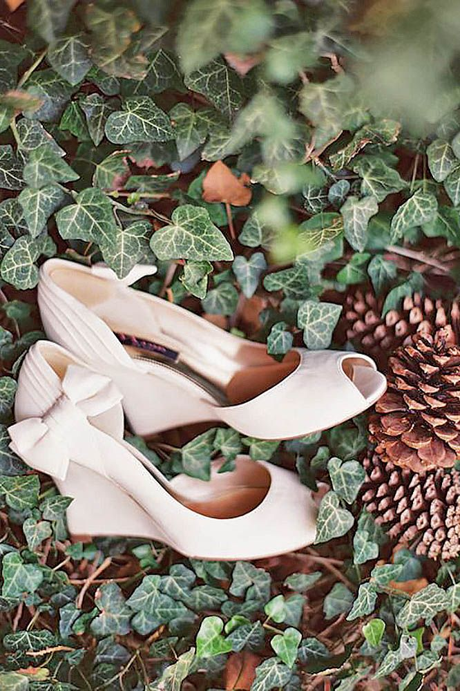 27 Wedge Wedding Shoes To Walk On Cloud | Wedding shoes, Wedge ...