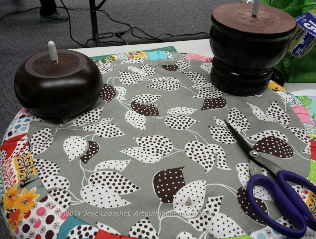 how to reupholster an ottoman with buttons