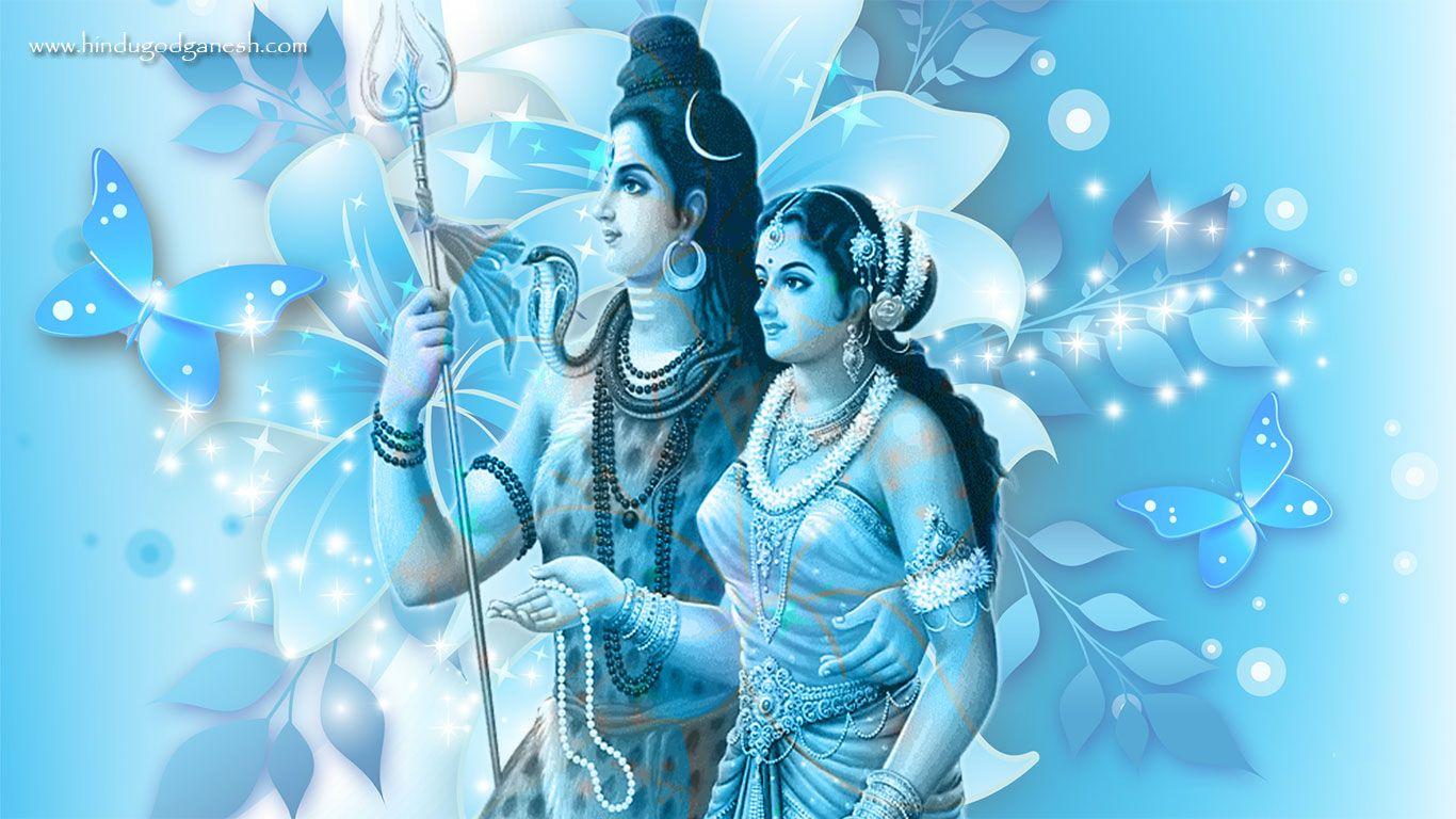 Lord shiv parvati hd wallpaper download