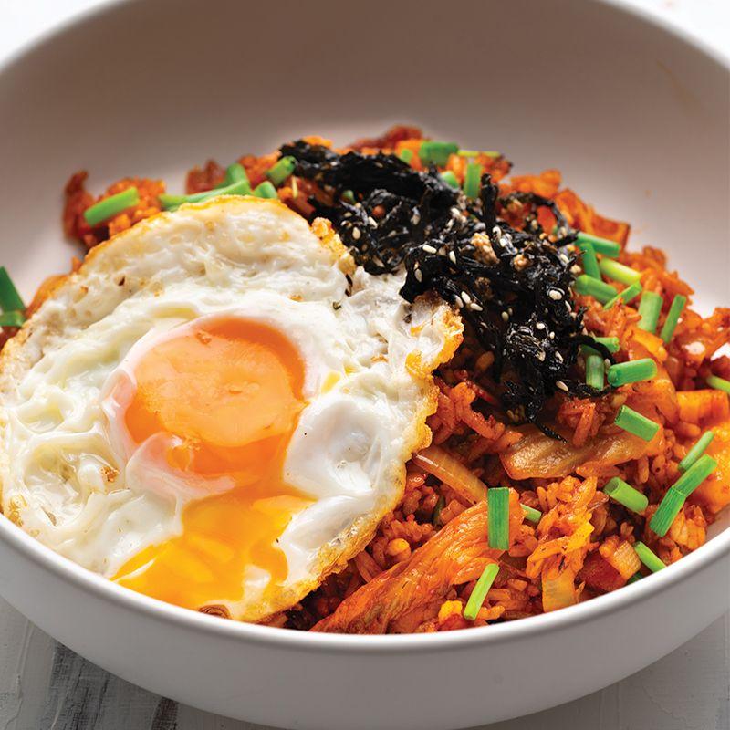 Kimchi Fried Rice Marion S Kitchen Recipe Kimchi Fried Rice Asian Recipes Fried Rice