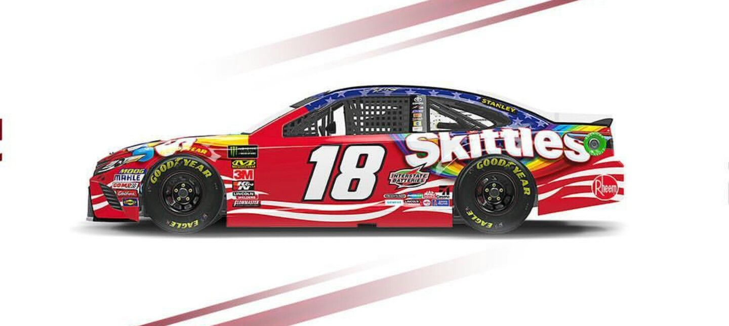 Chicagoland Speedway paint scheme 2018 (With images