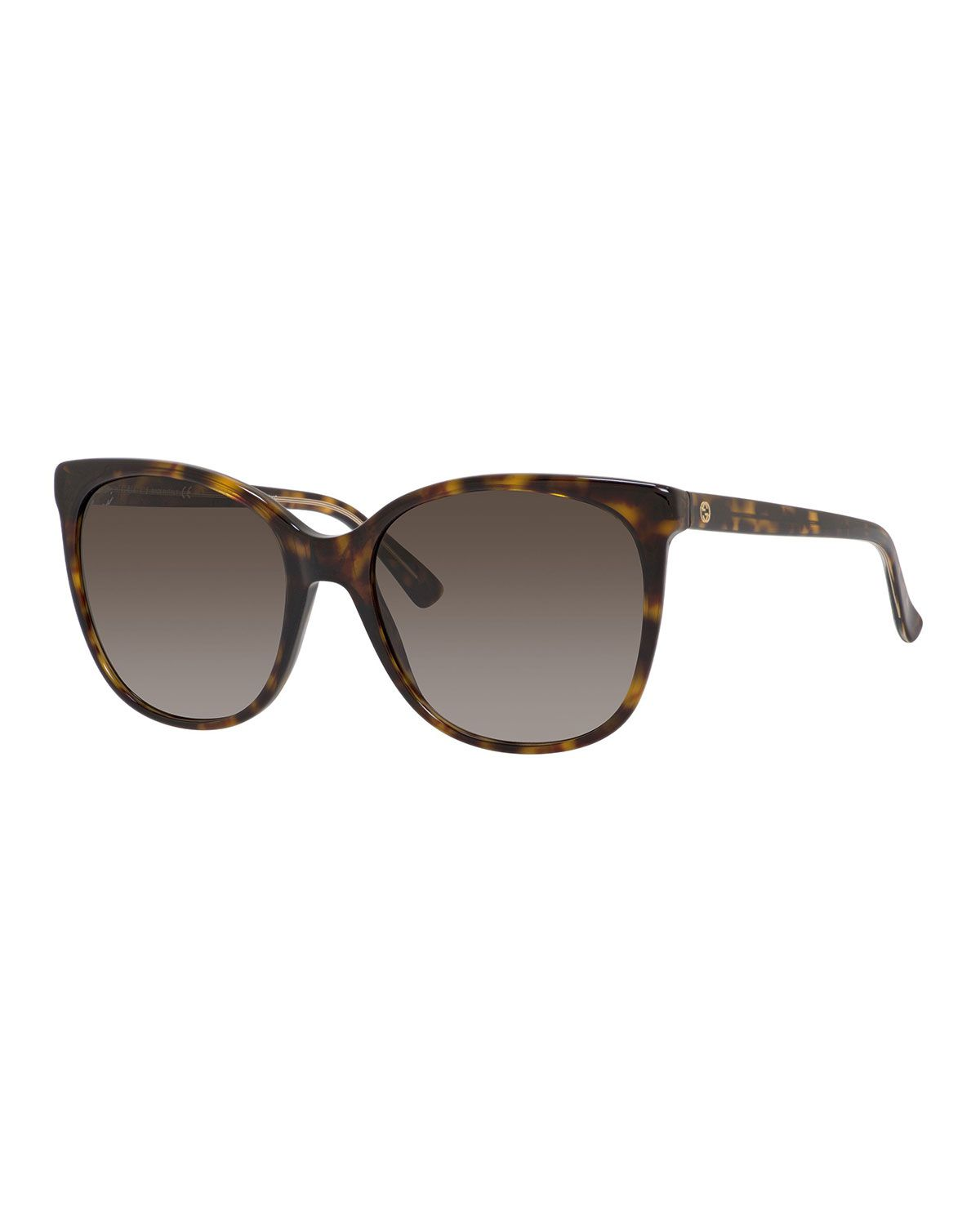 745a04cd903 Gucci Gradient Squared Cat-Eye Sunglasses