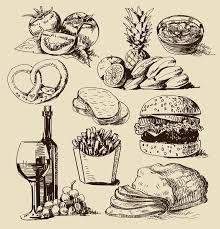 Картинки по запросу город контур | Иллюстрации еды ...