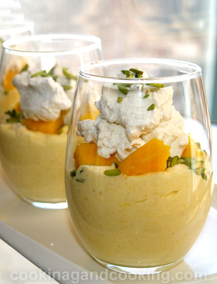 Mango Cream Recipe Is A Rich Creamy Dessert With Fresh Mango