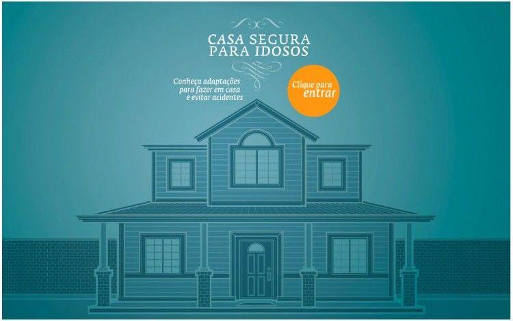 Casa segura para as idosos