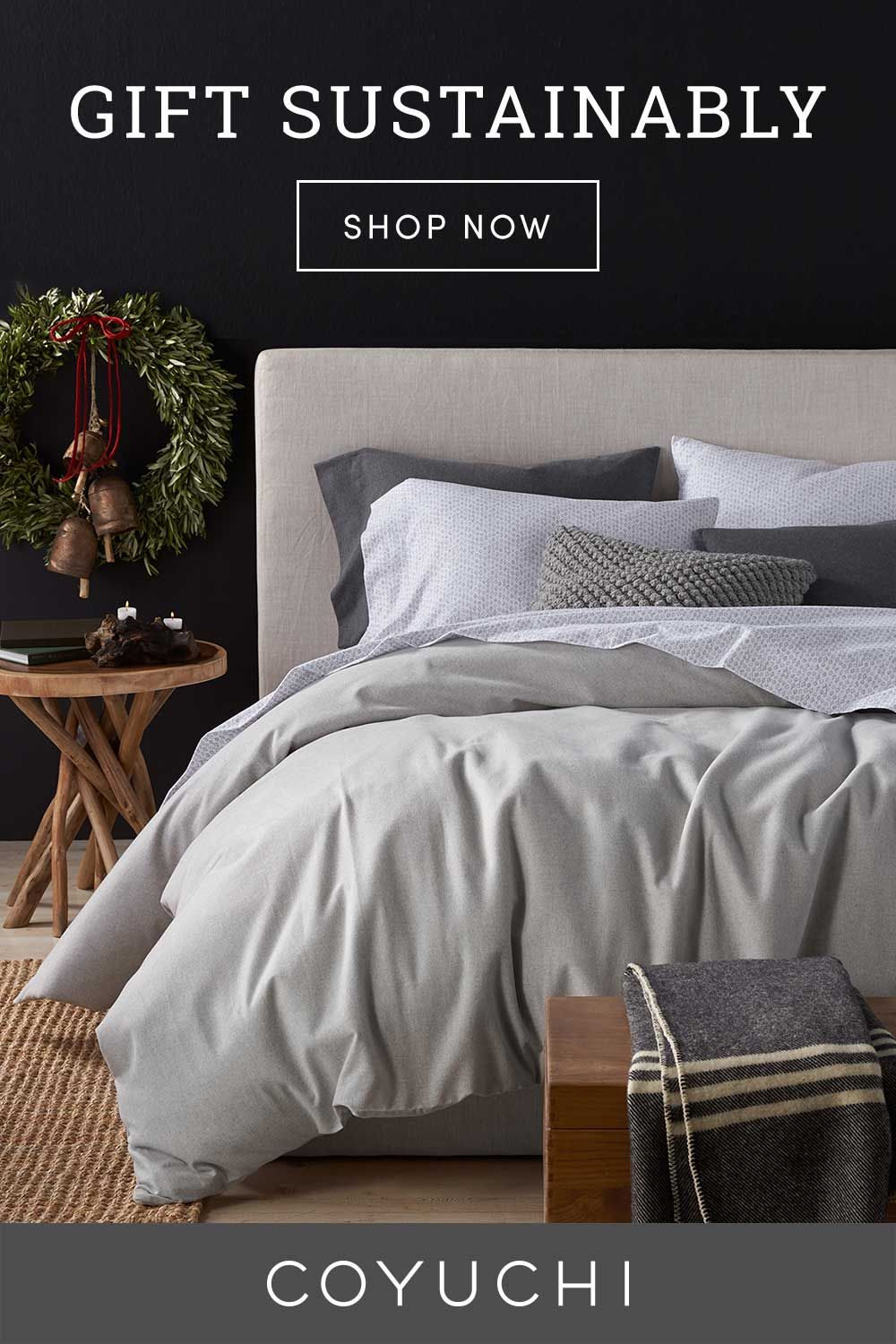 Your Organic Bedroom: Gift Warmth This Holiday Season With Our Soft, Organic