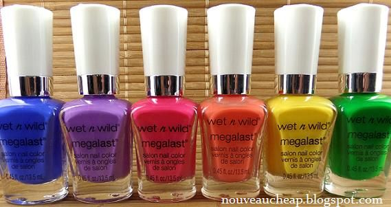 New wnw summer collection! Nouveau Cheap first look http://nouveaucheap.blogspot.com/2014/05/wet-n-wild-summer-2014-limited-edition.html