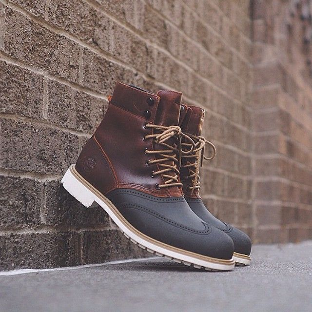 Timberland Stormbuck Duck boot, for wet and stormy days. | CHAUSSURES |  Pinterest | Mode homme, Chaussure et Chaussure hiver