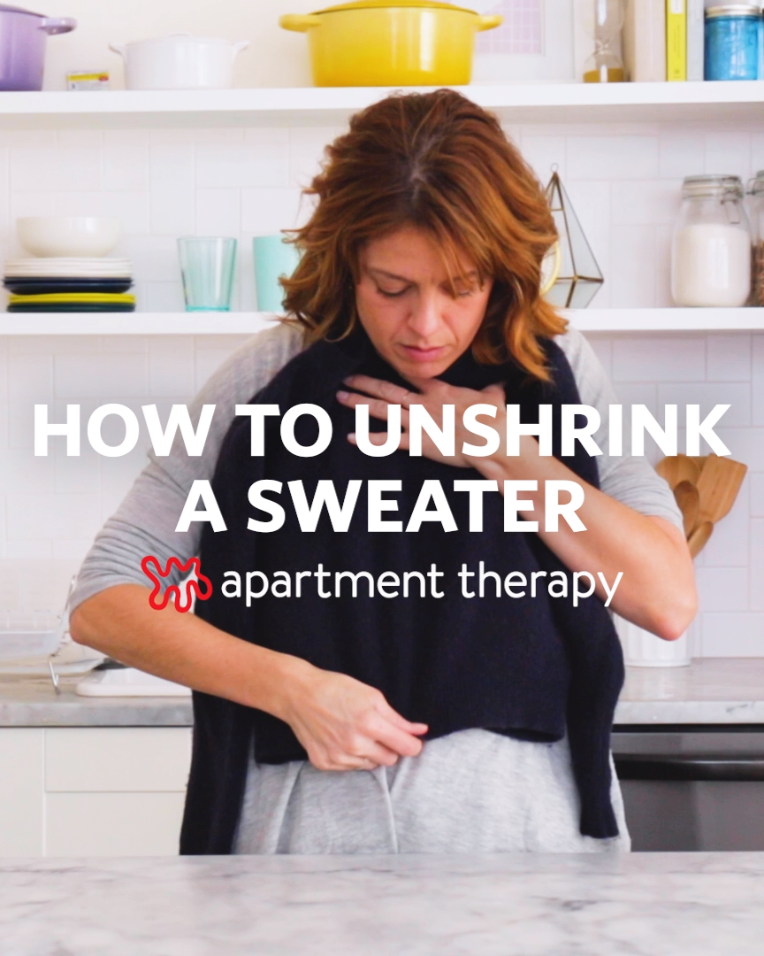 How To Unshrink A Sweater -   17 diy Clothes sweater ideas