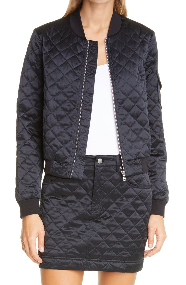 Cami Nyc The Dierdre Quilted Bomber Jacket Nordstrom Cami Nyc Quilted Bomber Trendy Bomber Jackets [ 1196 x 780 Pixel ]
