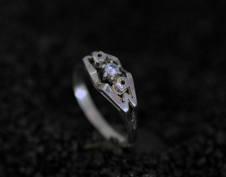 Ringe - verspielter Silber Ring mit Zirkonia - ein Designerstück von Silberschweif bei DaWanda
