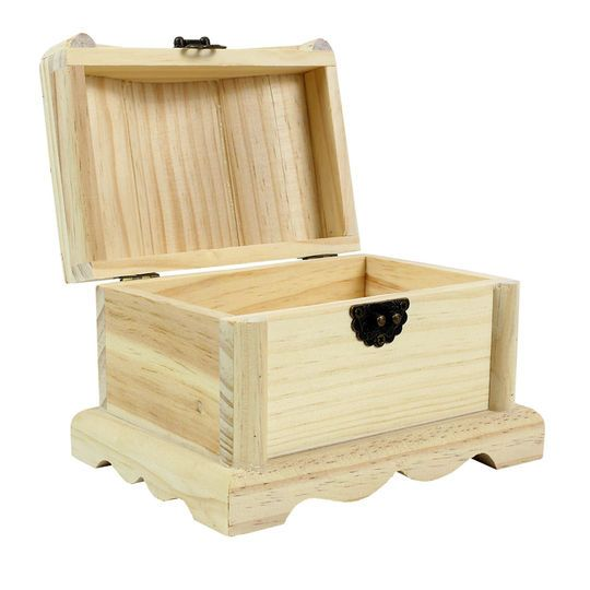 Wood Treasure Chest By Artminds Michaels Wood Crafts Treasure Chest Wood