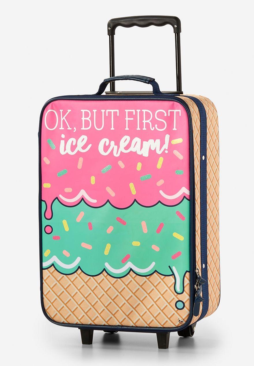 5c7138d8468b Ice Cream Theme Suitcase