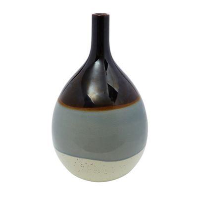 Reactive Round Glaze Vase