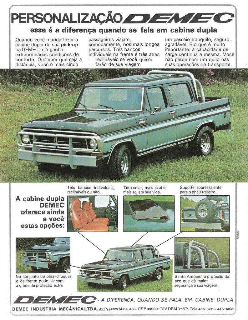 Demec Double Cabin Ford Trucks Classic Ford Trucks Vintage Trucks Ford