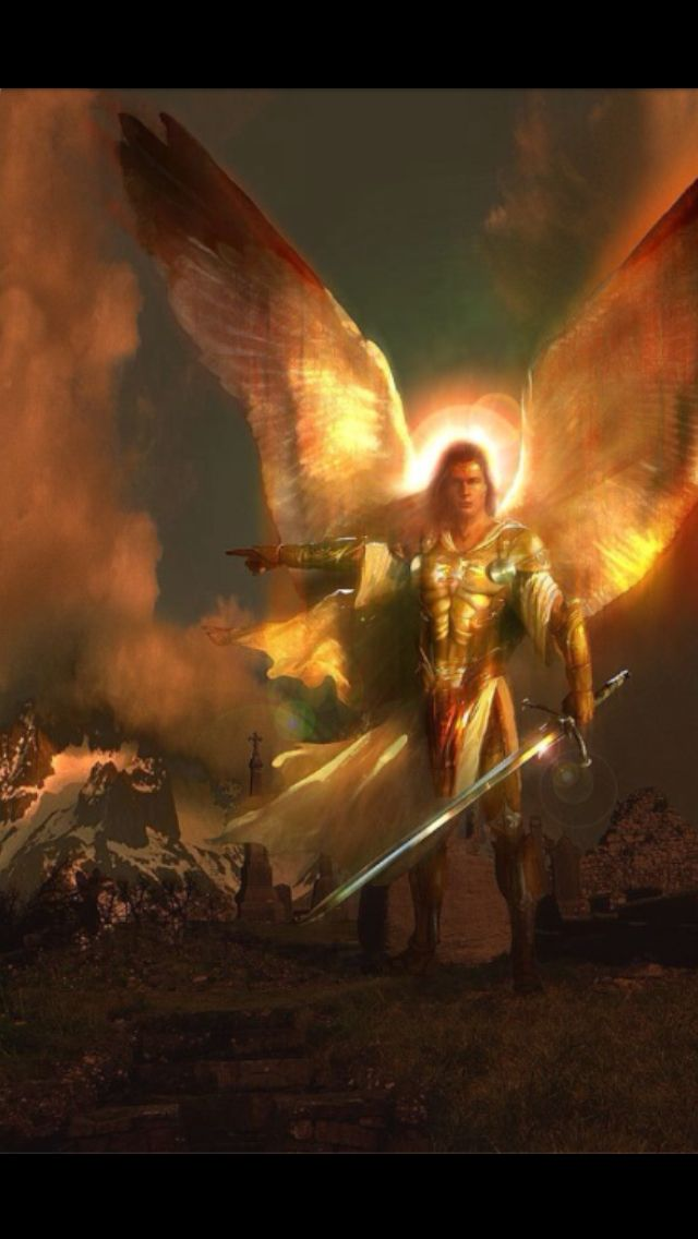 Saint Michael The Archangel What an intense and chilling ...
