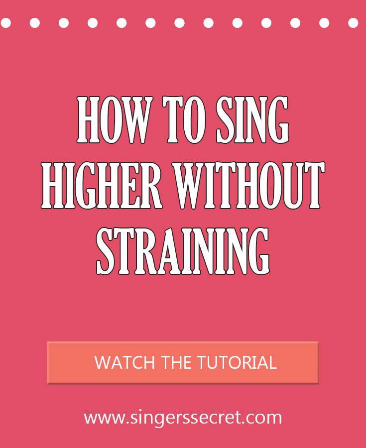 Sing Higher 1 Singing Tips Pinterest Guitars Music Sing And