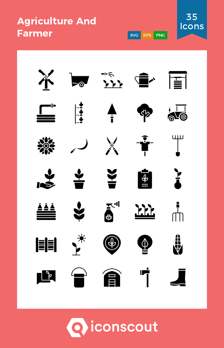 Download Agriculture And Farmer Icon Pack Available In Svg Png Eps Ai Icon Fonts Icon Pack Icon Icon Font