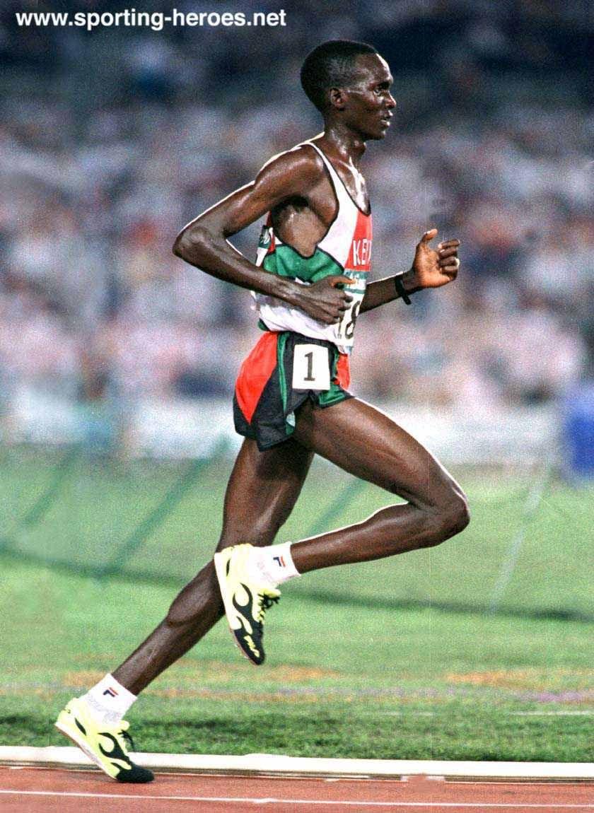 The ideal runner\'s body. Paul Tergat marathon world record holder ...