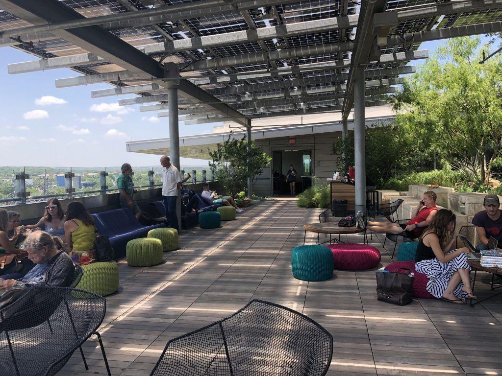 Virtually Tour Austin Central Library S Impressive Six Floors